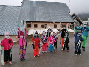 Read more about the article semaine de ski de fond, raquettes, recherches dva au Margériaz 2021