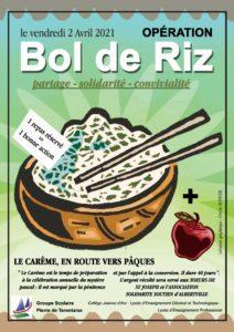 Read more about the article opération bol de riz 2021
