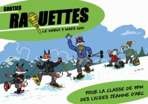 Read more about the article Sortie raquettes 3PM 09.03.21