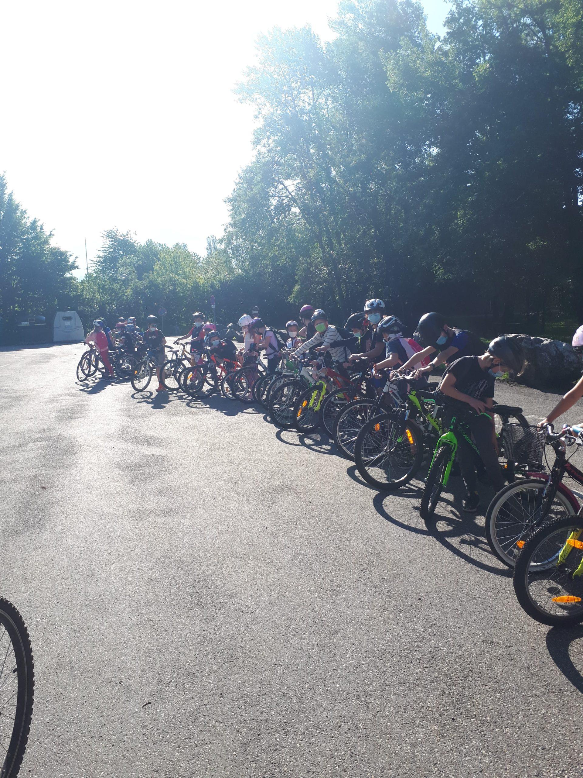 You are currently viewing Sortie vélo lac de Carouge / lac de gresy sur isere